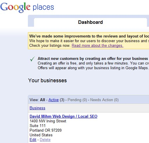 Google +Local NAP Info Pulling From Mapmaker (not Places?)